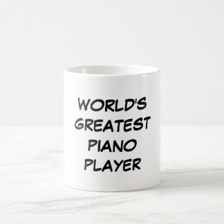 """Bestster das Klavier-Spieler-"""" Tasse """"der Welt"""