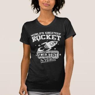 Bestster das Rocket-Wissenschaftler der Welt in T-Shirt