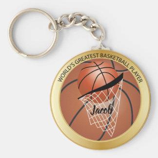 Bestster der Basketball-Spieler der Welt Schlüsselanhänger