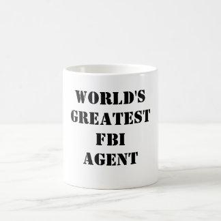 Bestster der FBI-Agent der Welt Kaffeetasse