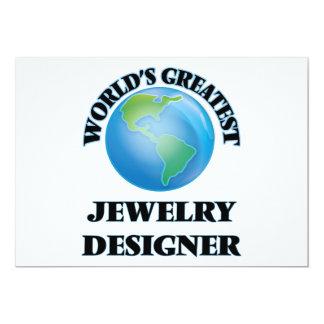 Bestster der Schmuck-Designer der Welt Einladungen