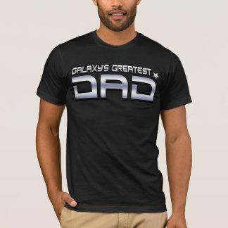 Bestster der Vati-T - Shirt der Galaxie