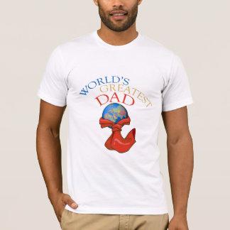 Bestster der Vati-T - Shirt der Welt
