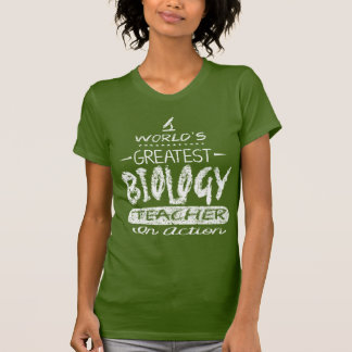 Bestster die Biologie-Lehrer der Welt T-Shirt