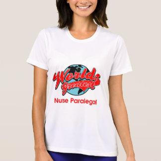 Bestster die Krankenschwester-Rechtsassistent der T-Shirt
