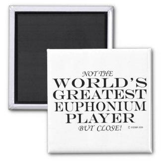 Bestster Euphonium-Spieler nah Kühlschrankmagnet