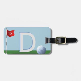 Bestster Golfspieler-überhaupt Kofferanhänger