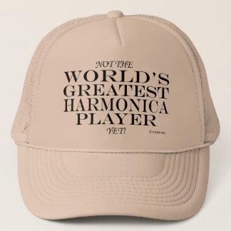 Bestster Harmonika-Spieler schon Truckerkappe