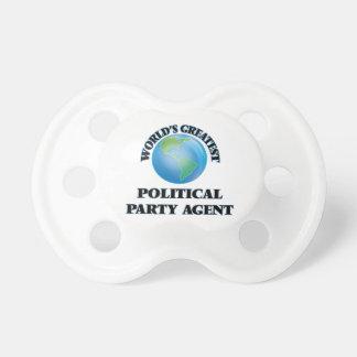 Bestster politischer das Party-Agent der Welt Schnuller