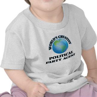 Bestster politischer das Party-Agent der Welt T Shirt