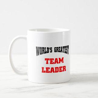 Bestster Teamführer der Welt, Welt am beststen… Tasse