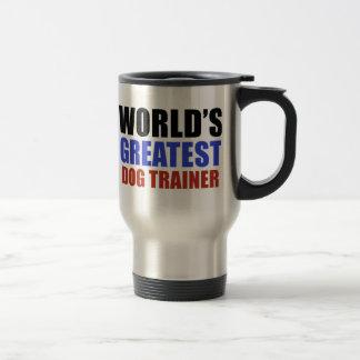 Bestster Trainer der Welt Hunde Reisebecher