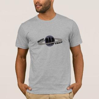 Bestster Vati in der Galaxie T-Shirt