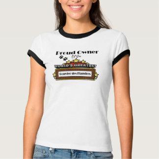 Beststes das Bouvier der stolze Inhaber-Welt DES T-Shirt