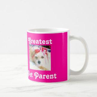 Beststes Haustier-Elternteil Kaffeetasse