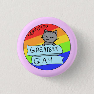Beststes Homosexuelles Runder Button 3,2 Cm