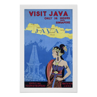 Besuch Java Poster