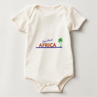 Besuch landschaftliches Afrika Baby Strampler
