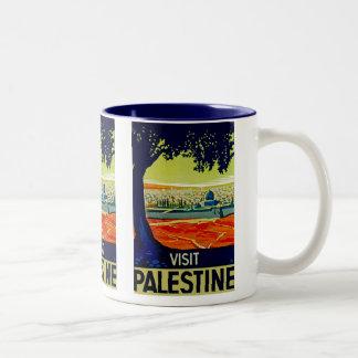Besuch Palästina Kaffee Haferl