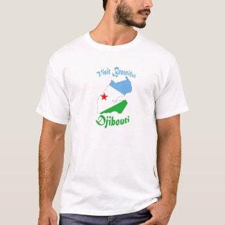 Besuch schönes Dschibuti T-Shirt