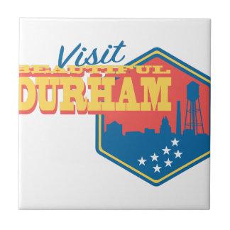 Besuch schönes Durham Keramikfliese
