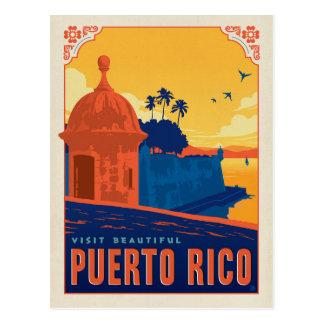 Besuch schönes Puerto Rico Postkarte