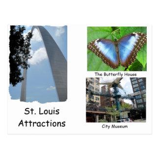 Besuch St. Louis. Postkarte