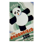 Besuchen Sie das Vintage WPA Plakat Brookfield Zoo