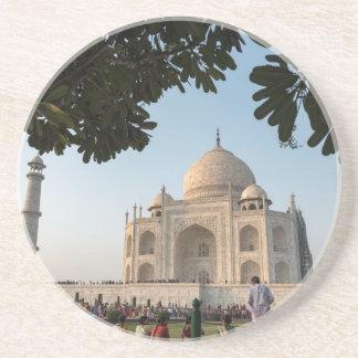 Besucher bei Taj Mahal, Agra, Indien Getränkeuntersetzer