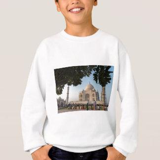 Besucher bei Taj Mahal, Agra, Indien Sweatshirt