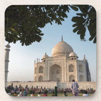 Besucher bei Taj Mahal, Agra, Indien Untersetzer
