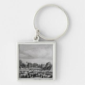 Besucher, die das Palmen-Haus an Kew Palast, c.1 Schlüsselanhänger
