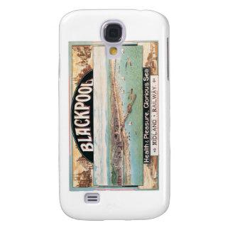Besuchs-Blackpool-Plakat Galaxy S4 Hülle