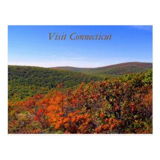 Besuchs-Connecticut-Postkarte 2 Postkarte