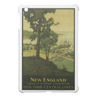 Besuchs-Neu-England Vintages Plakat iPad Mini Hülle