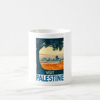 Besuchs-Palästina-Plakat Kaffeetasse