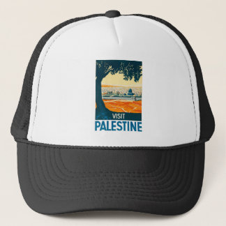 Besuchs-Palästina-Plakat Truckerkappe