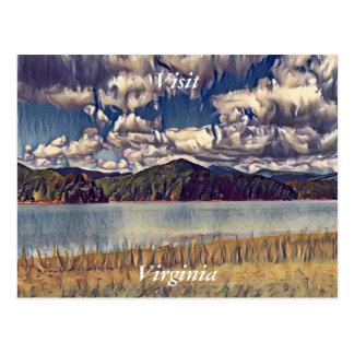 Besuchs-Virginia-Postkarte 3 Postkarte