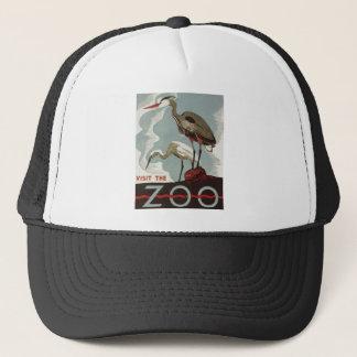 Besuchs-Zoo Vintag Truckerkappe