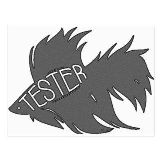 Beta-Tester Postkarte