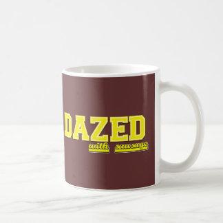 Betäubt mit Wurst Kaffeetasse