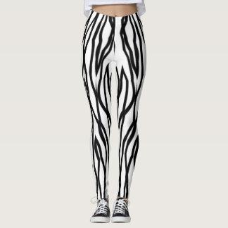 Betäubter Zebra Leggings