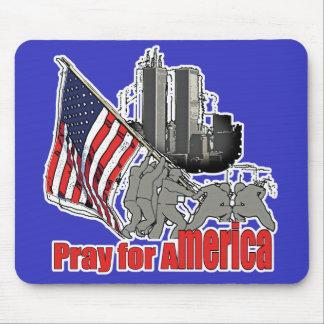 Beten Sie für Amerika Mousepad