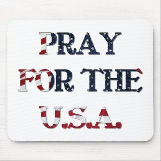 Beten Sie für das USA Mousepad