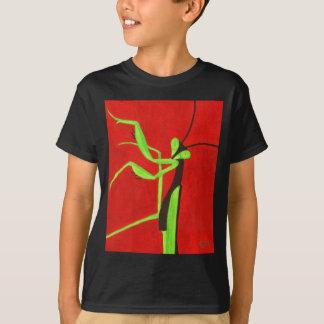 """""""Beten Sie für Friedens"""" roten u. grünen betenden T-Shirt"""