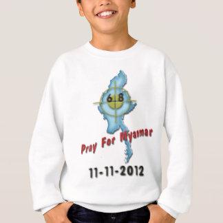 Beten Sie für Myanmar Sweatshirt