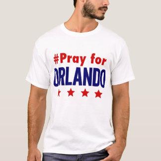 Beten Sie für Orlando-T-Stück T-Shirt