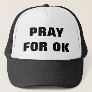 Beten Sie für Truckerkappe