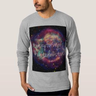 Beten Sie, für Vegas/vereinigte uns stehen T-Shirt