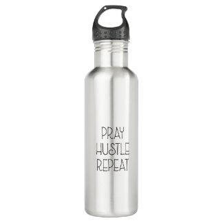 Beten Sie Gedränge-Wiederholung Trinkflasche
